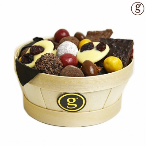 Bourriche de chocolats assortis