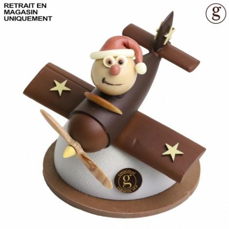 Père Noël en vol